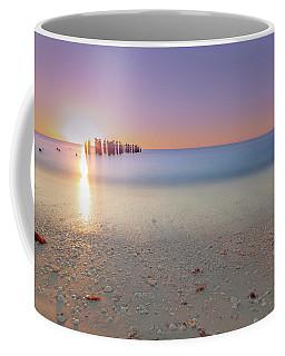 Naples Beach Sunset 3rd Ave Coffee Mug