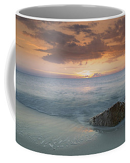 Naples Beach Sunset Coffee Mug by Christopher L Thomley
