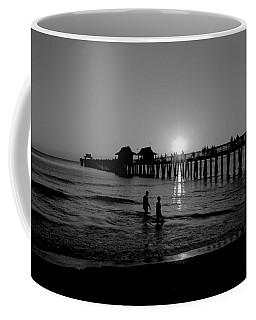 Naples Florida Pier Sunset Coffee Mug