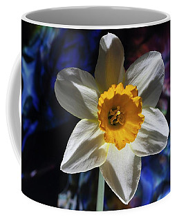 Coffee Mug featuring the photograph Narcissus In The Garden Of The Unconscious II by Richard Thomas