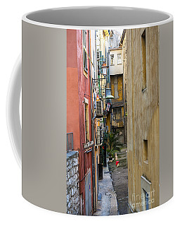 Narrow Street In Old Nice Coffee Mug