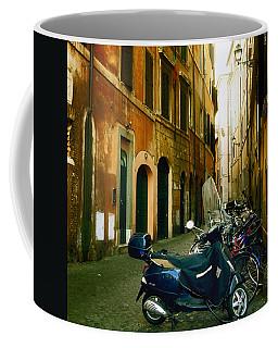 narrow streets in Rome Coffee Mug