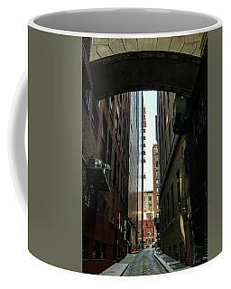 Narrow Streets Of Cobble Stone Coffee Mug by Bruce Carpenter