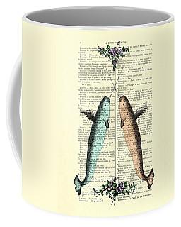 Narwhals In Love Coffee Mug