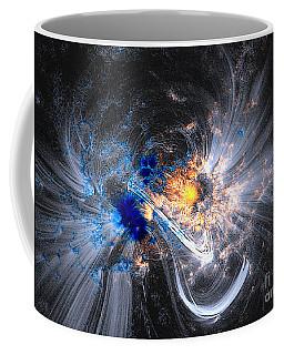 Nasa Coronal Loops Over A Sunspot Group Coffee Mug