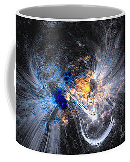 Nasa Coronal Loops Over A Sunspot Group Coffee Mug by Rose Santuci-Sofranko
