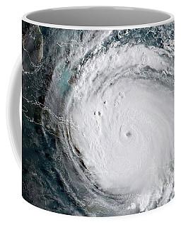 Nasa Hurricane Irma Satellite Image Coffee Mug