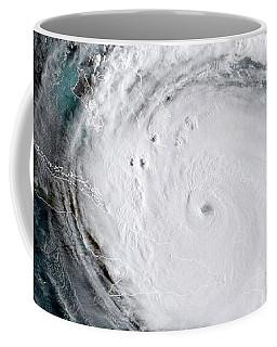 Coffee Mug featuring the photograph Nasa Hurricane Irma Satellite Image by Rose Santuci-Sofranko