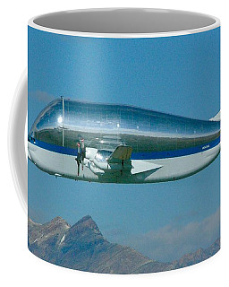 Coffee Mug featuring the digital art Nasa Super Guppy by James Weatherly