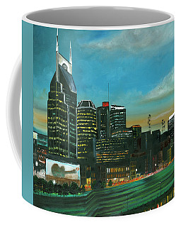 Nashville At Dusk Coffee Mug