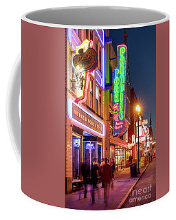 Coffee Mug featuring the photograph Nashville Signs II by Brian Jannsen