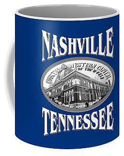 Nashville Tennessee Design Coffee Mug