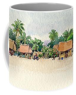 Nassau, Cook Islands, South Pacific Coffee Mug