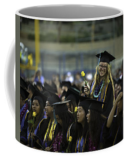 Coffee Mug featuring the photograph Natalia's Grad Photo by John King