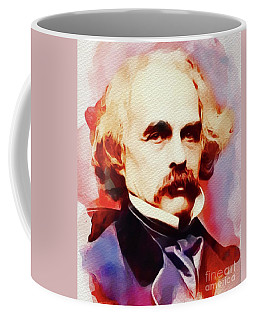 Nathaniel Hawthorne, Literary Legend Coffee Mug