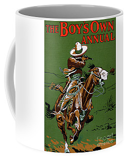 National Frontier Police Of Mexico  Cover The Boy's Own Annual Coffee Mug