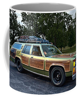 National Lampoons Vacation Truckster Replica Coffee Mug by Tim McCullough
