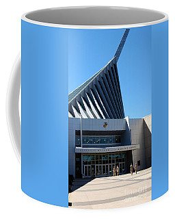 Coffee Mug featuring the photograph National Museum Of The Marine Corps Quantico by Thomas R Fletcher
