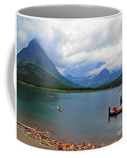 National Parks. Serenity Of Mcdonald Coffee Mug by Ausra Huntington nee Paulauskaite