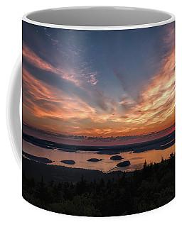 Coffee Mug featuring the photograph National Sunrise by John M Bailey