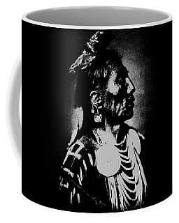 Native American 2 Curtis Coffee Mug by David Bridburg