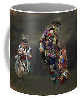 Native American Dancers Coffee Mug