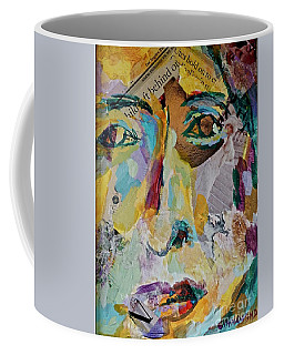 Native American Reflection Coffee Mug by Michael Cinnamond