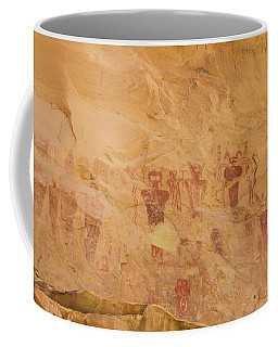 Native American Rock Wall Art Coffee Mug