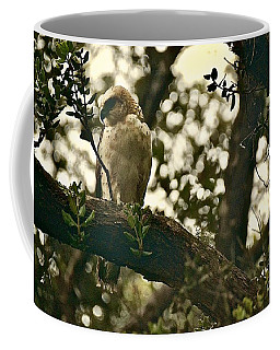 The Golden 'io Hawaiian Hawk Coffee Mug