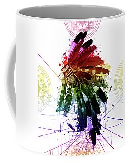 Native Headdress 2 Coffee Mug