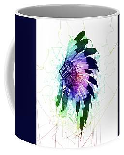Native Headdress Coffee Mug