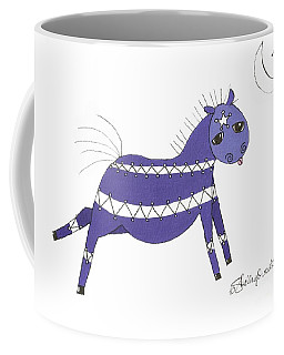 Native Horsey Coffee Mug