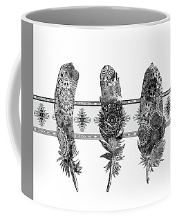 Native Mandala Feathers 5 Coffee Mug
