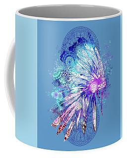 Native Mandala Headdress 2 Coffee Mug