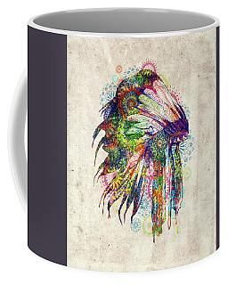 Native Mandala Headdress 4 Coffee Mug