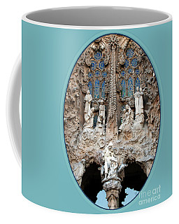 Coffee Mug featuring the photograph Nativity Barcelona by Victoria Harrington