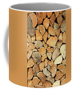 Natural Wood Coffee Mug