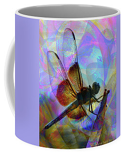 Coffee Mug featuring the digital art Natural Beauty II by Visual Artist Frank Bonilla