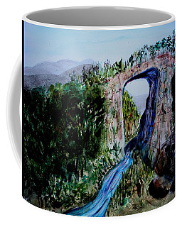 Natural Bridge In Virginia Coffee Mug