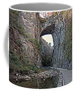 Coffee Mug featuring the photograph Natural Bridge Virginia by Suzanne Stout
