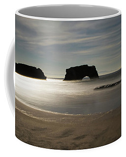 Natural Bridges State Beach Sand Coffee Mug