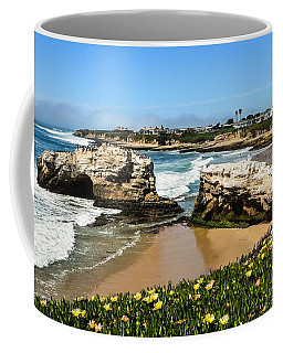 Natural Bridges State Park Beach Coffee Mug