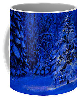 Natural Christmas Tree Coffee Mug