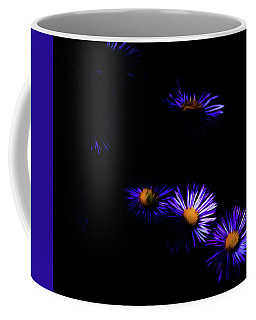 Coffee Mug featuring the digital art Natural Fireworks by Timothy Hack