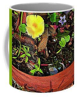 Natural Forest Collage Coffee Mug