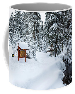 Coffee Mug featuring the photograph Natural Monument Oderteich, Harz by Andreas Levi