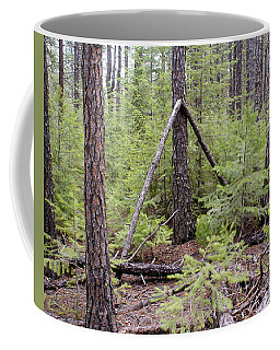 Natural Peace In The Woods Coffee Mug