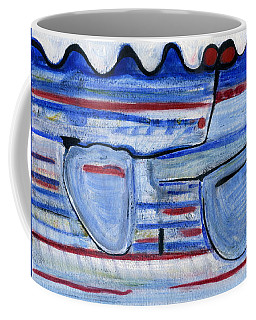Coffee Mug featuring the painting Natural Resource by Stephen Lucas