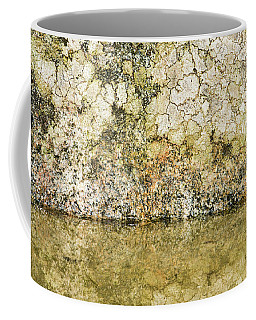 Coffee Mug featuring the photograph Natural Stone Background by Torbjorn Swenelius