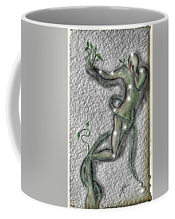 Coffee Mug featuring the digital art Nature And Man by Darren Cannell